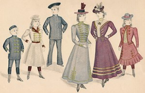 Children and Misses Military and Naval Costumes for 1898, Author's Collection