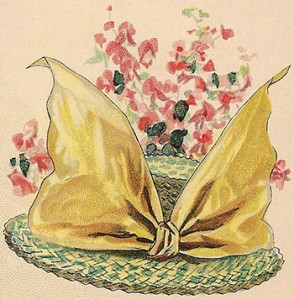 Fancy Straw Hat, Author's Collection