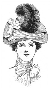 Young Ladies' Leghorn Hat, Author's Collection