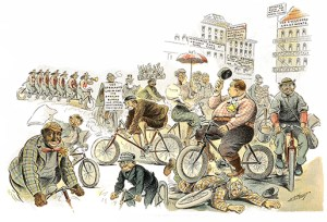 Bicycle Face: The Bicycle Craze, Author's Collection