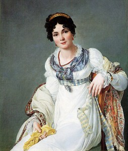 Cosmetics of the Georgian and Regency Eras: Portrait of a Woman with Beautiful Skin by Henri Francois Mulard in 1810, Courtesy of Wikipedia