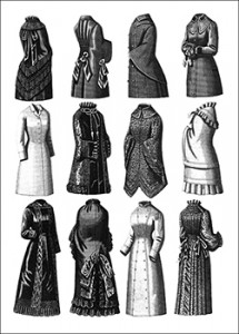 Selection of Jackets and Mantles, Author's Collection