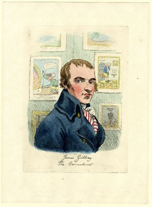 James Gillray, c. 1800, Courtesy of British Museum