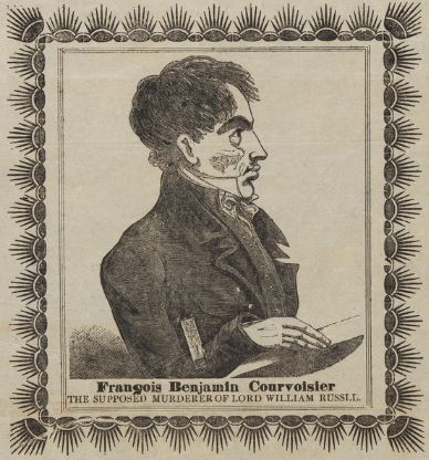 Lord William Russell - François Benjamin Courvoisier