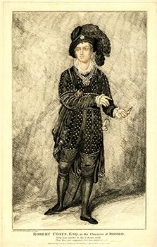 "Robert ""Romeo"" Coates in Costume, Courtesy of the British Museum"