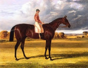 Painting of Amato, the Winner of The Derby Stakes in 1838, Courtesy of Wikipedia