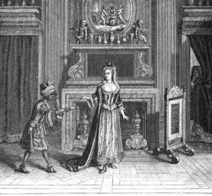 Boudoir of Louis XVI's Time Period, Day-rooms