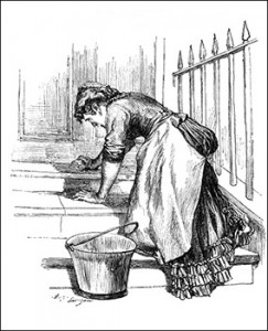 Scullery Maid, Public Domain