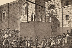 A Hanging Outside Newgate, Courtesy of Wikipedia