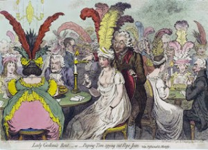 Regency Gamblers, Regency people