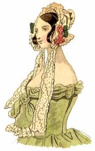 millinery - the dinner bonnet