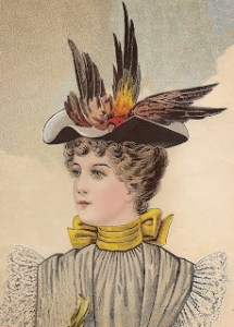 Millinery - Young lady's felt hat