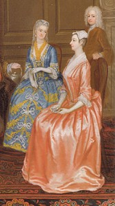 Fashions of 1730s, Women's Accessories