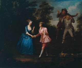 "Dressed in Pink Breeches, Charlotte Charke, Plays Damon,  a Role in Her Father's Pastoral Farce ""Damon and Phillida"", Courtesy of Wikipedia"