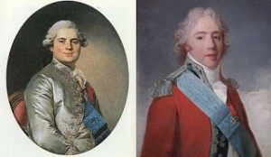 Louis Stanislas-Xavier (later Louis XVIII) and Charles Philippe (later Charles X), Public Domain