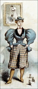 Victorian Woman in Breeches, Author's Collection