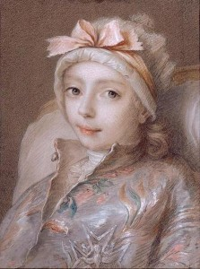 duc de Bourgogne by Jean-Martial Frédou in 1761, Courtesy of the Palace of Versailles