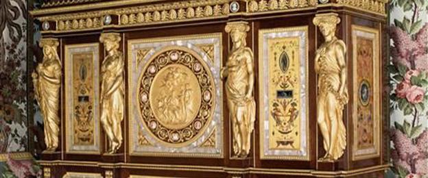 Jewel Cabinet Belonging To Marie, Marie Antoinette Furniture