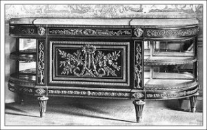 Sideboard at Saint Cloud, Public Domain