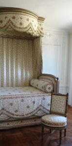 Passion for flowers Marie Antoinette demonstrated in her Trellis Bedroom at Petit Trianon