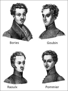 Four Accused Men of the La Rochelle Conspiracy, Public Domain