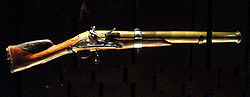 French Bluderbuss from the 1760s, Called an Espingole, Courtesy of Wikipedia