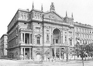 Ring Theatre in 1881, Courtesy of Wikipedia
