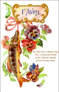 April Fools' Day or Poisson d'Avril, from Crunch Hearts