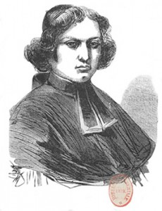 French Priest Delacollogne, Courtesy of Bibliothèque nationale de France