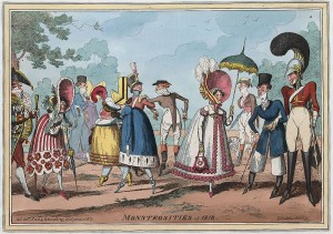 Monstrosities of 1818, Courtesy of Library of Congress