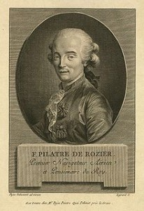 Pilatre de Rozier, Courtesy of Wikipedia