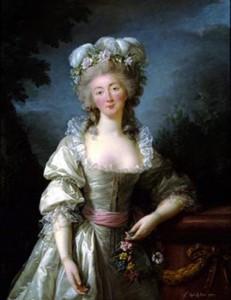 Madame du Barry, by Vigée Le Brun, Courtesy of Corcoran Gallery of Art, Washington