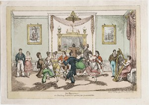 Dancing the Quadrille, Courtesy of Lewis Walpole Library