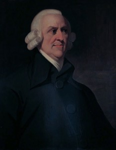 Adam Smith, Courtesy of Wikipedia