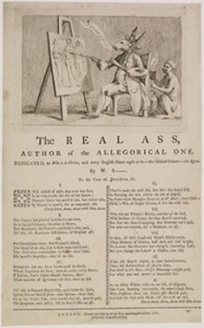 "Response to the ""Queen's Ass,"" ""The Real Ass,"" Courtesy of British Museum"