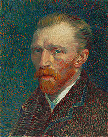 Vincent Van Gogh, Self Portrait in 1887, Courtesy of Wikipedia