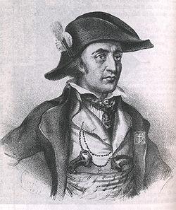 Imaginary Portrait of Jean Chouan, 1833, Courtesy of Wikipedia