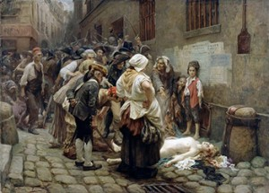 Death of Princesse de Lamballe during September Massacres, by Leon Maxime Faivre, Courtesy of Wikipedia