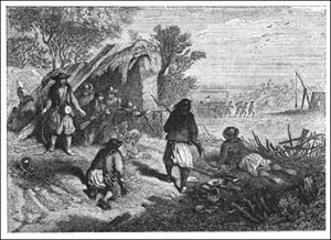 Fighting Between the Chouans and the Blues, Public Domain