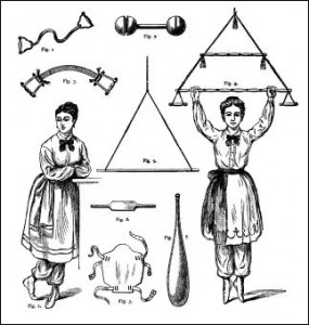 Victorian Calisthenics for Women, Public Domain