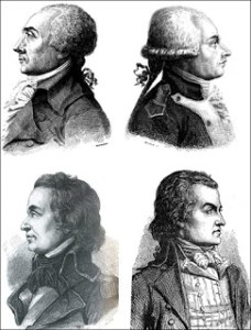 Festival of Reason - Jacques René Hébert, Antoine-François Momoro, Charles-Philippe Ronsin, and François-Nicolas Vincent, Courtesy of Wikipedia