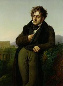 François-René de Chateaubriand, Courtesy of Wikipedia