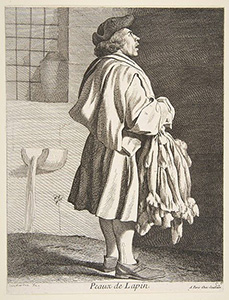Dreadful Murder in France in 1818 by a Peddler: French Rabbit Pelt Peddler