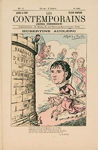 Hubertine Auclert - caricature