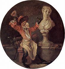 "Singerie - Antoine Watteau's ""The Monkey Sculpture"""