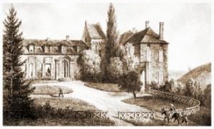Lafayette and Diane of Simiane chateau de cirey