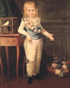 Louis-Charles by Élisabeth Vigée Le Brun in 1789
