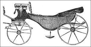 vehicle titles, origins, and descriptions of the 1700 and 1800s