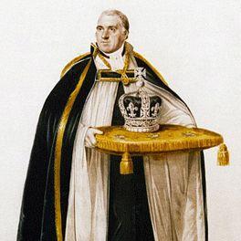 George IV's coronation crown.