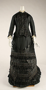 French funeral etiquette - mourning dress